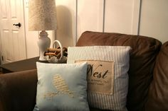 Silhouette Heat Transfer Fabric Interfacing {pillow applique} - Home Stories A to Z