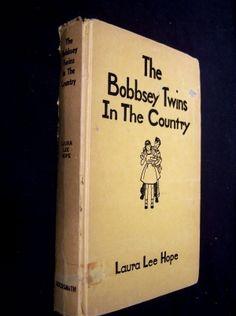 My mom had 4 or 5 #BobseyTwins books that I read.