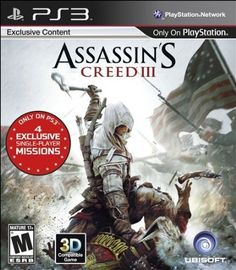Assassin's Creed III PSD -- Click the pic and view over 21,000 game trailers, Most in HD