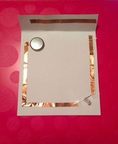How to Make an Paper-circuit LED Switch: 3 Steps Led Projects, Circuit Projects, Science Projects, Projects For Kids, Colegio Ideas, Ms Project, Stem Classes, Electric Circuit, Diy Fairy Door