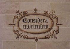 Considera Morientem