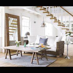 Oltre 1000 idee su specchio con cornice in legno su for Miroir 200x80