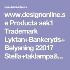 www.designonline.se Products sek1 Trademark Lyktan+Bankeryds+Belysning 22017 Stella+taklampa&variantId=01
