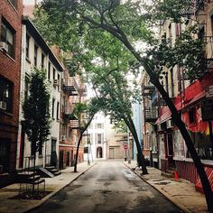 """""""Empty streets are a rare find in Manhattan. This street is beautiful #CLAtakethewheel @Monica Busa"""" via @Tim Landis"""