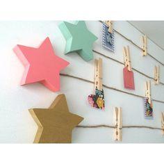 May 2020 - Zoomie Kids Star Art Display Clips Garland Color: Coral Pink Baby Playroom, Playroom Art, Kids Room Art, Art For Kids, Kids Rooms, Kids Art Area, Kids Art Space, Playroom Storage, Playroom Design