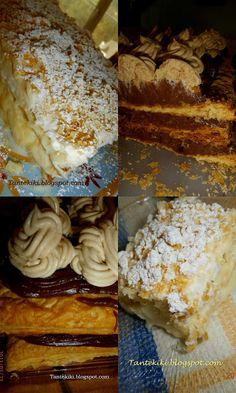 Mille-feuilles νηστίσιμο... | Tante Kiki Cheesesteak, Food And Drink, Pie, Ethnic Recipes, Sweet, Desserts, Cakes, Torte, Cake