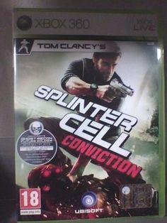 Splinter Cell Conviction   XBOX 360