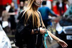 London Fashion Week Spring 2016 Street Style - London Fashion Week Spring 2016 street style-Wmag