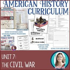 Civil War Unit Bundle (American History Curriculum Unit 7) This Civil War Unit Bundle includes the following products for teaching about these topics: Slavery, States' Rights, Causes of the Civil War, The Civil War, Reconstruction, 13th, 14th, and 15th Amendments: Civil War