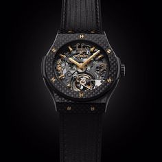 #ICYMI: @Hublot has unveiled two new watches inspired by @langlangpiano. This is their Classic Fusion #Tourbillon Cathedral #MinuteRepeater Carbon #LangLang . . .  #luxurywatches #Hublot #watchesofinstagram #HongKong