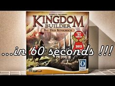 Kingdom Builder - Board Game Roundup in 60s