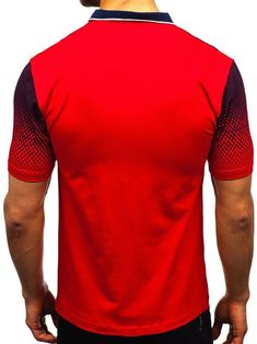 Gradient Tone Shirt Collar T Shirts , Polo Shirt Brands, Cheap T Shirts, Denim Fashion, Fashion Tips, Collar Shirts, Printed Shorts, Types Of Sleeves, Printed Cotton, Branding Design