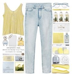 """""""Bumblebee Kisses"""" by heartart ❤ liked on Polyvore featuring Jason Wu, Monki, SUNO New York, ANNA BAIGUERA, Marc Jacobs, Arteriors, Menu, Brinkhaus, Ermanno Scervino and philosophy"""