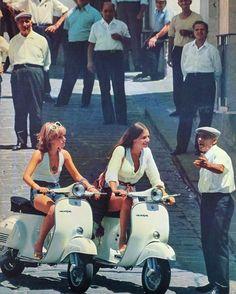 European Summer, Italian Summer, Vespa 125, Vespa Lambretta, Theodora Home, The New Classic, Slim Aarons, Scooter Girl, Old Money