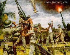 clark field the phillippines art prints world war 2 - Bing Images Military Diorama, Military Art, Military History, Army Drawing, Wake Island, World War Two, Wwii, Art Prints, Marines
