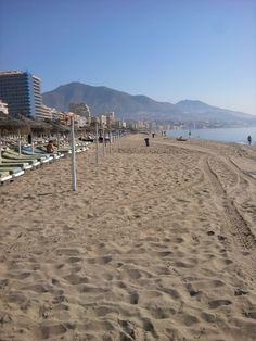 Playas de Fuengirola.