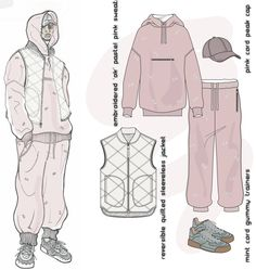 Fashion Sketchbook - fashion illustrations; fashion drawings; fashion portfolio…