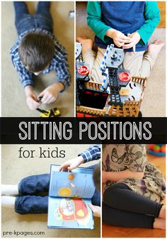 W-Sitting Explained! Have you ever wondered why your kids do that and if it's good or bad? Find out now... - Pre-K Pages