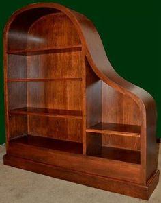 Baby Grand Piano repurposed into a shelf. **brilliant**