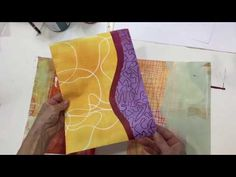 In this video I'm showing you some print techniques I am using with the gel plate and foam relief plates. Instead of using the prints for collage, I am assem. Gelli Plate Printing, Printing On Fabric, Painting Lessons, Art Lessons, Gouache, Jane Davies, Gelli Arts, Plate Art, Collage Art