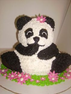 3D Bear cake.  Maybe I need to make a tester before hand.....to see how it tastes ;)