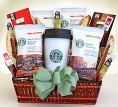 Starbucks On The Go Gift Basket from All About Gifts and Baskets $69