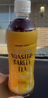 What's Good at Trader Joe's?: Trader Joe's Roasted Barley Tea Emergency Rations, Slice Of Life, Trader Joe's, Roast, Beverages, Tea, High Tea, Drinks, Roasts