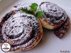 kakaóscsiga_2 Hungarian Desserts, Kids Meals, Pancakes, Cookies, Breakfast, Recipes, Food, Crack Crackers, Morning Coffee