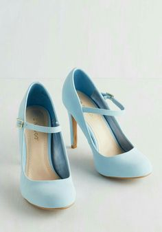 I Want Powder Blue Heels