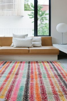 Colorful herringbone rug / Loom, love this! Herringbone Rug, Rug Loom, Design Textile, Ideias Diy, Rugs On Carpet, Carpets, Carpet Decor, My New Room, Colorful Rugs