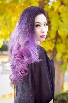 Pinky/Lilac Ombre