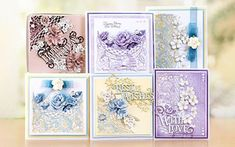 Buy Tattered Lace Honey Blossom Complete Die Collection from the die-cutting range at Create and Craft. Tattered Lace Cards, Harlequin Pattern, Birthday Sentiments, Happy 2nd Birthday, Floral Garland, Create And Craft, Heartfelt Creations, Card Maker, Masculine Cards