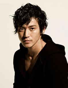 Japanese hairstyles are so versatile and may look great on every men with thick hair. In our gallery we have rounded up Classical Japanese Men Hairstyles! Japanese Men Hairstyle, Japanese Hairstyles, I Like Him, Modern Assassin, Jun Matsumoto, Shun Oguri, Asian Actors, Male Face, Face Claims