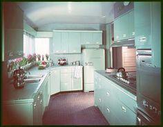 1960s. kitchen.