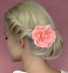 účesy pro dlouhé vlasy květina - Hledat Googlem