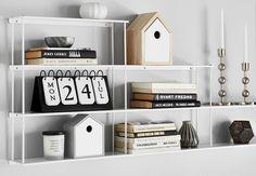 Elton - Vägghylla 4 hyllplan   Mio Floating Shelves, Home Decor, Decoration Home, Room Decor, Wall Shelves, Home Interior Design, Home Decoration, Interior Design