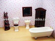 bebek evi minyatür banyo seti