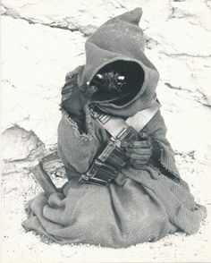 Retro Star Wars Strikes Back • Jawa from Star Wars 1977 @retrostarwarsstrikesback