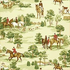 236 x 236 Antique Fox Hunting Scene Wallpaper Thomas Strahan 6652 ., equestrian-wallpaper on HdWallpapers Equestrian Bedroom, Equestrian Decor, Equestrian Style, Toile Wallpaper, Pattern Wallpaper, Room Wallpaper, Wallpaper Collection, Castle Pines, English Country Decor