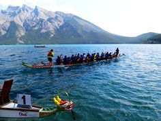Beautiful views.... Banff National Park, National Parks, Dragon Boat, Racing, Mountains, Nature, Travel, Beautiful, Running