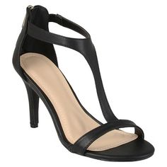 Women's Journee Collection T Strap Heels