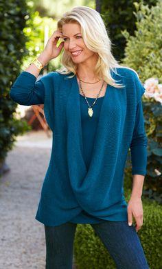 Soft Surroundings sweater - LOVE it!