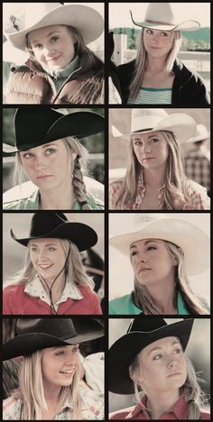 Amber as Amy. Heartland season 1-8. It's amazing to see how far she's come, from a young 19 year old to a beautiful 27 year old :)