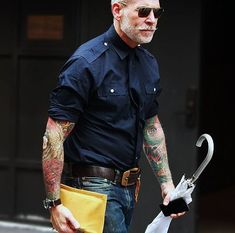 Nick Wooster, if you don't know who he is, you should.  The stylish badass. Period.
