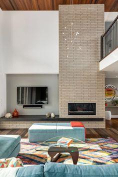 Design Hub - блог о дизайне интерьера и архитектуре: Уютное семейное гнёздышко с красивым современным интерьером
