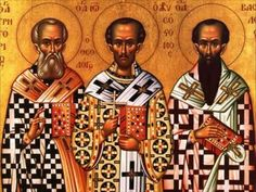 Στάση νηπιαγωγείο: 3 Ιεράρχες Orthodox Catholic, Orthodox Christianity, Christian Church, Christian Art, Ignatius Of Antioch, Day Of Pentecost, Grace And Co, Present Day, Statue