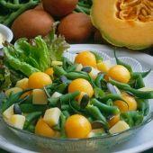 Lajos Mari konyhája - Körtés-szőlős libamellsaláta Cantaloupe, Fruit, Food, Essen, Meals, Yemek, Eten