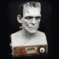 Life-Size Universal Monsters Frankenstein Bust
