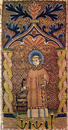 St Lawrence, 15th Century Embroidery