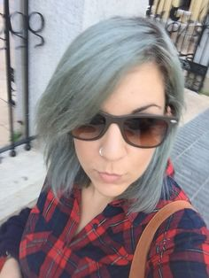 #me #hair #greyhair #haircute #style #nofilter #cute #fashion